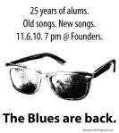 The Blues Are Back Poster